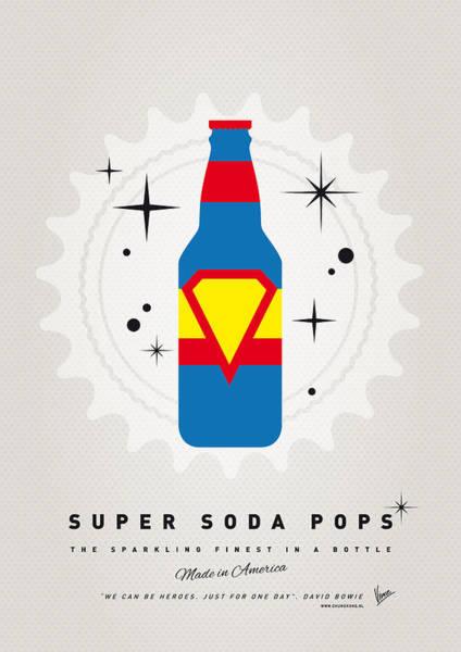 Power Wall Art - Digital Art - My Super Soda Pops No-05 by Chungkong Art