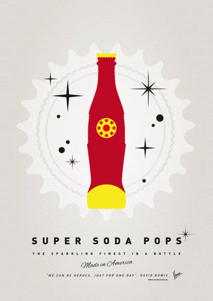 Power Wall Art - Digital Art - My Super Soda Pops No-09 by Chungkong Art