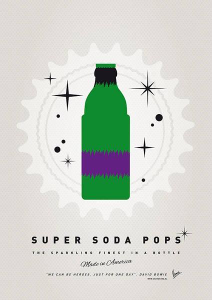 Digital Art - My Super Soda Pops No-11 by Chungkong Art