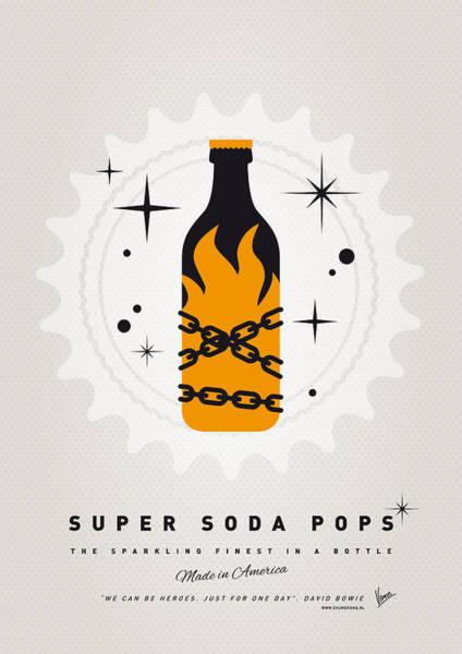 Digital Art - My Super Soda Pops No-16 by Chungkong Art