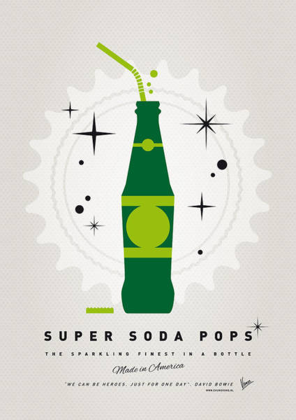 Arrow Wall Art - Digital Art - My Super Soda Pops No-20 by Chungkong Art