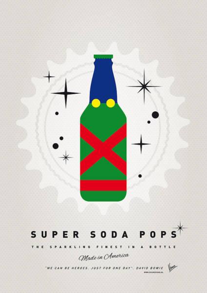 Digital Art - My Super Soda Pops No-21 by Chungkong Art