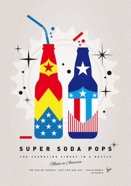 Digital Art - My Super Soda Pops No-24 by Chungkong Art
