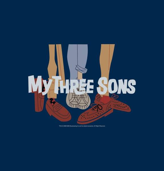 Son Digital Art - My Three Sons - Shoes Logo by Brand A