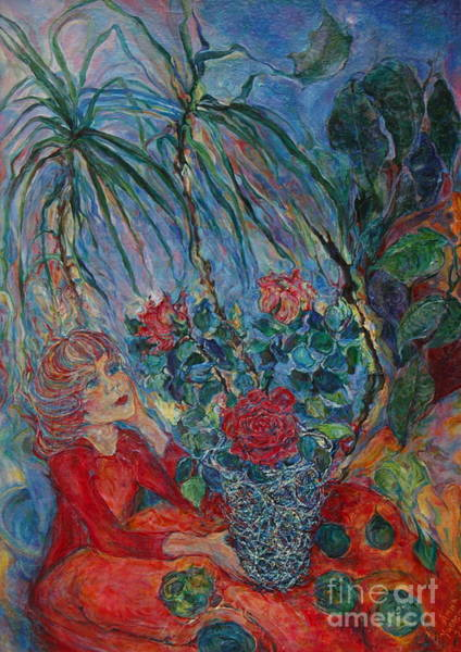 Wall Art - Painting - My Tropics by Anna Yurasovsky