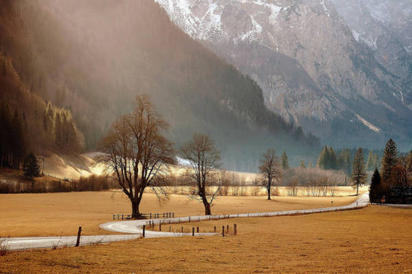 Valley Photograph - My Valley by Jure Kravanja
