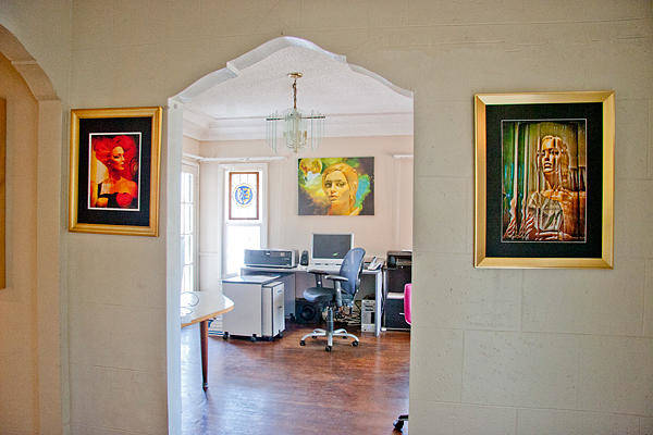 Photograph - My Work Space by Chuck Staley