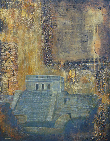 Painting - Myan Temple by Jeffrey Oldham