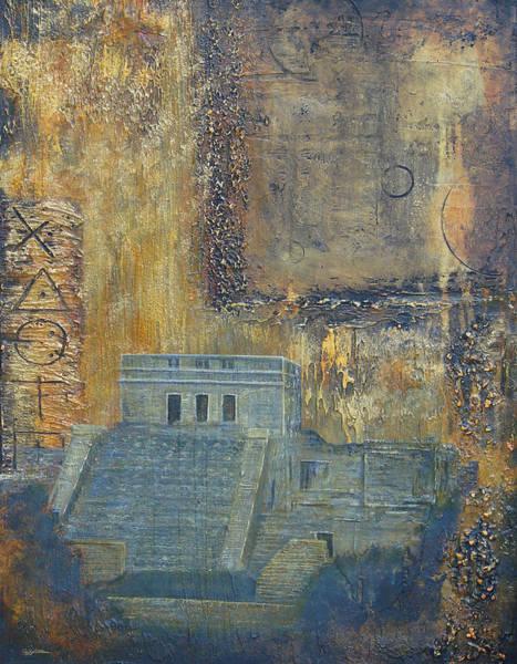 Myan Temple Art Print by Jeffrey Oldham