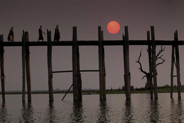 Burma Photograph - Myanmar, Amarapura by Jaynes Gallery