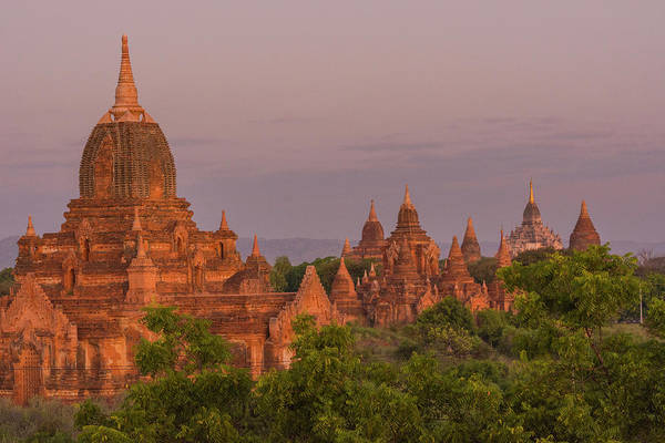 Bagan Photograph - Myanmar Bagan Temples Of Bagan by Inger Hogstrom