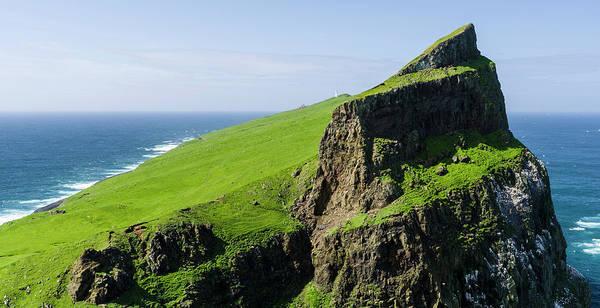 Faroe Island Wall Art - Photograph - Mykinesholmur Island Mykines, Part by Martin Zwick