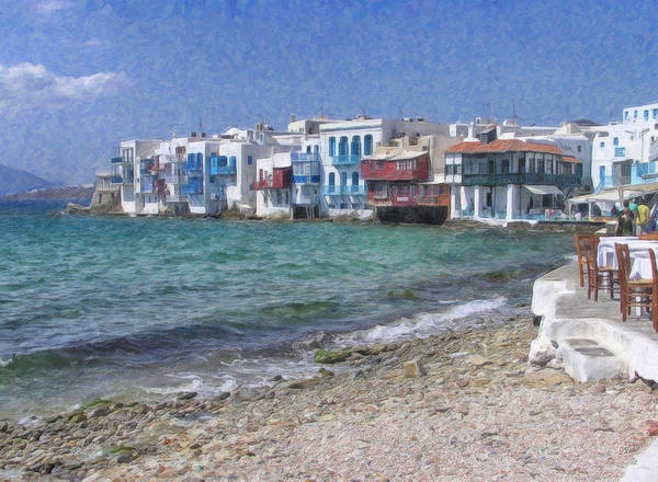 Painting - Mykonos Grk3763 by Dean Wittle