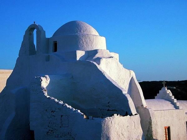 Photograph - Mykonos Island Greece by Colette V Hera  Guggenheim