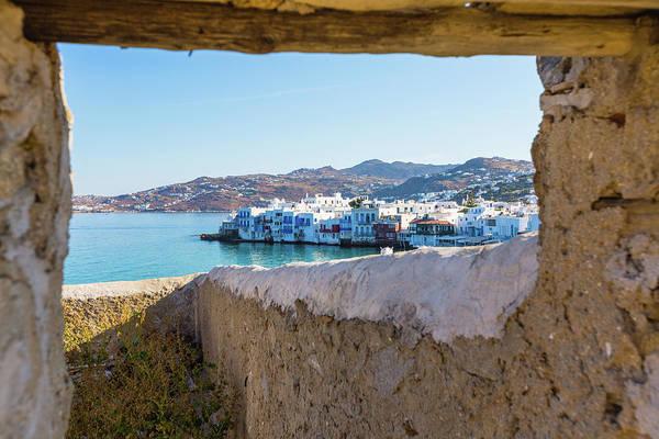 Greece Photograph - Mykonos Island, Greece by Deimagine