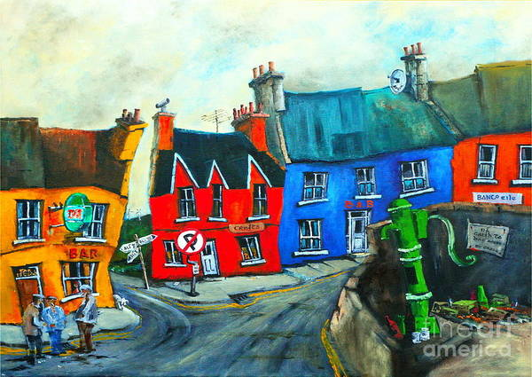 Mixed Media - Mylo In Eyeries West Cork by Val Byrne
