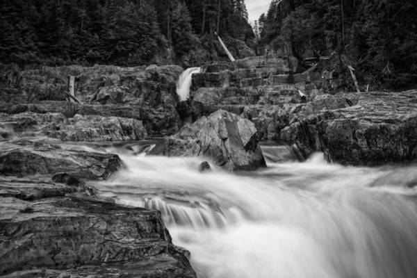 Photograph - Myra Falls by Carrie Cole