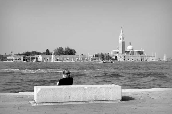 Wall Art - Photograph - Myself And Venice by Valentino Visentini