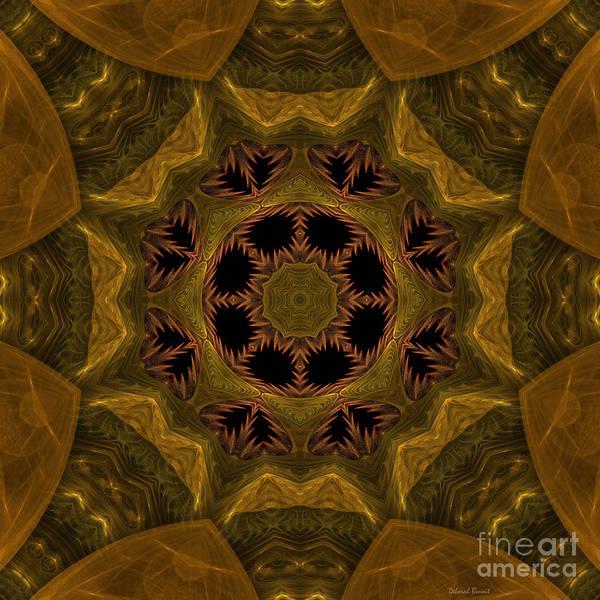 Digital Art - Mysterious Kaleidoscope by Deborah Benoit