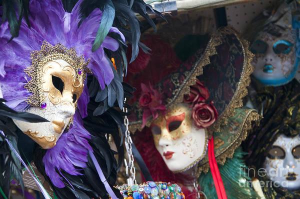Photograph - Mysterious Masks by Brenda Kean