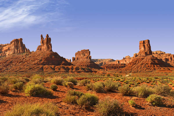 Photograph - Mysterious Valley Of The Gods by Christine Till