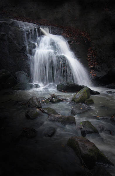 Photograph - Mysterious Waterfall by Dreamland Media