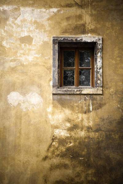 Photograph - Mysterious Window by Maria Heyens
