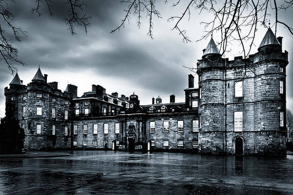 Holyrood Photograph - Mystery Of Holyrood Palace by Mark E Tisdale