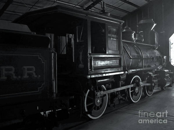 Photograph - Mystery Train by Gregory Dyer