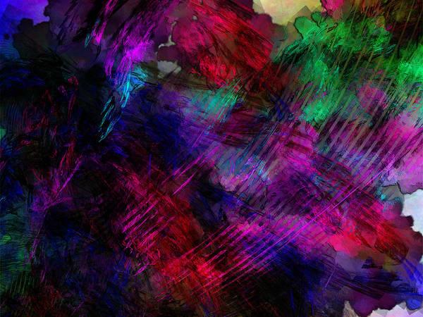 Digital Art - Mystery Wave Of Cosmic Radiation by Jeff Iverson