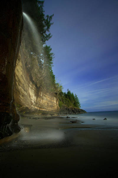 Vancouver Island Photograph - Mystic Beach, Vancouver Island, Canada by Mark K. Daly