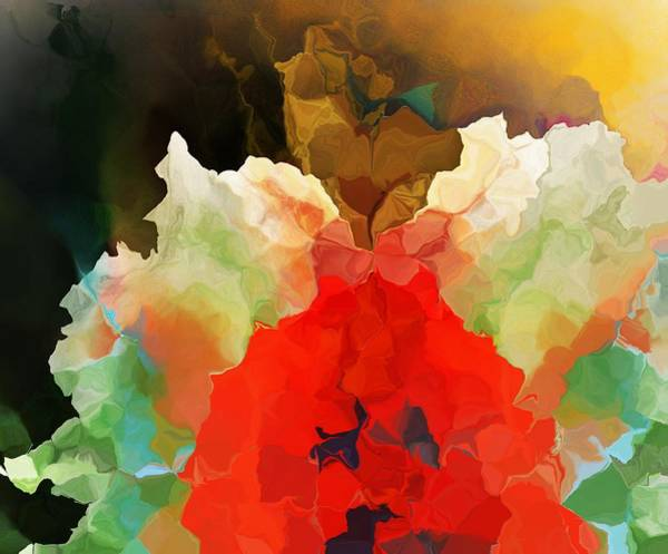 Wall Art - Digital Art - Mystic Bloom by David Lane