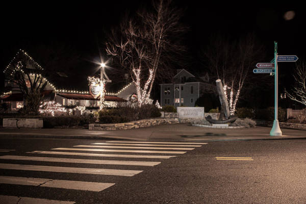 Photograph - Mystic Crosswalk by Kirkodd Photography Of New England