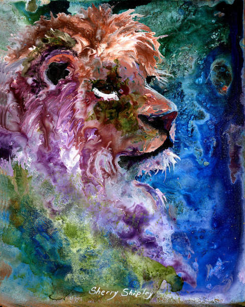 Painting - Mystic Lion by Sherry Shipley