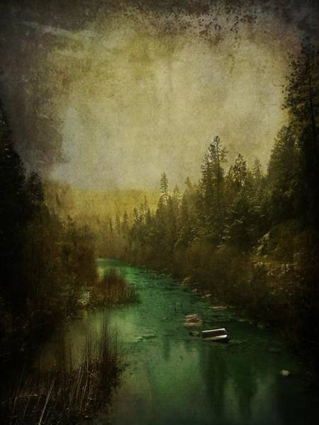 Yuba River Photograph - Mystic River by Leah Moore