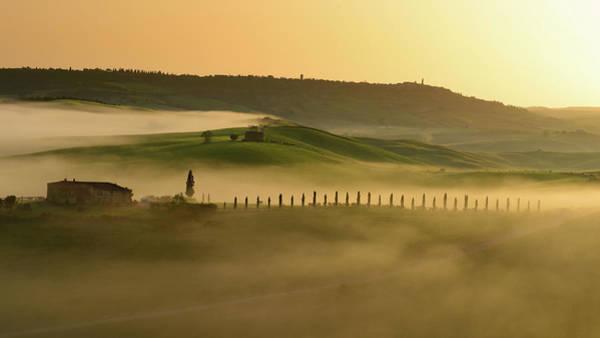 Tuscany Photograph - Mystic Tuscany by Mario Eder