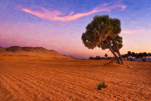 Photograph - Mystical Morning On The Egyptian Sahara by Mark Tisdale