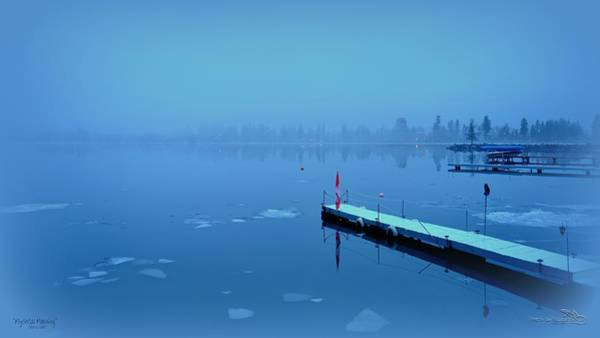 Mystical  Morning - Skaha Lake 03-06-2014 Art Print