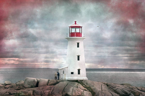 Peggys Cove Photograph - Mystical Peggy by Betsy Knapp