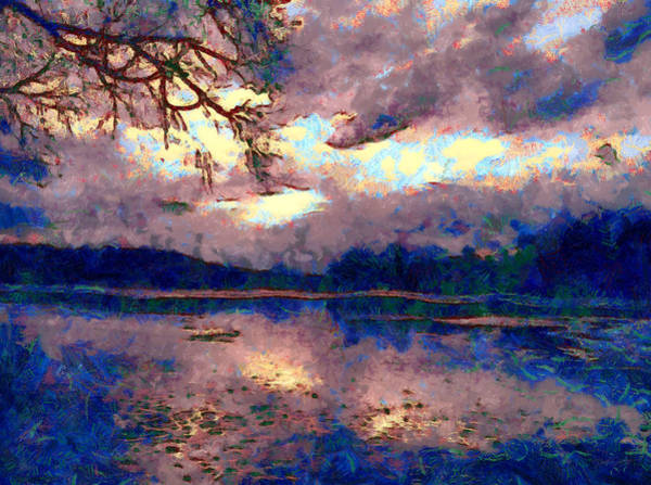 Painting - Mystical Reflections by Derek Gedney