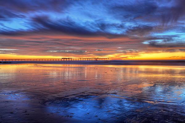 Photograph - Mystical Sunset by Mark Whitt