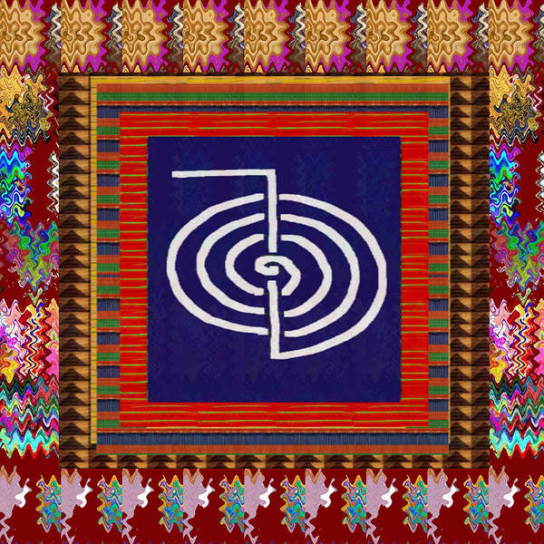 Promotion Mixed Media - Mystical Symbol Art Decorations With Energy   by Navin Joshi