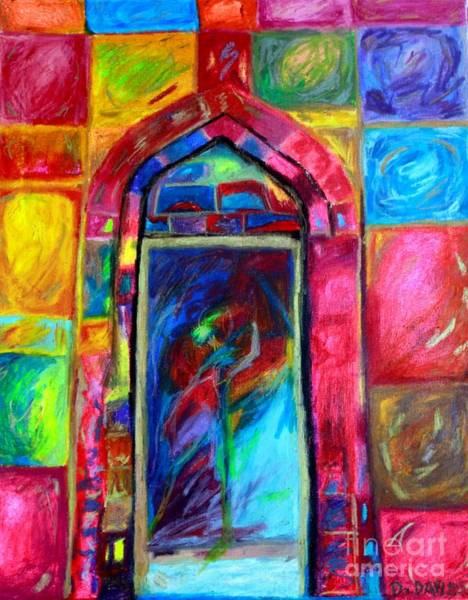 Priceless Painting - Mystical Temple - Temple Dancer  by Debbie Davidsohn