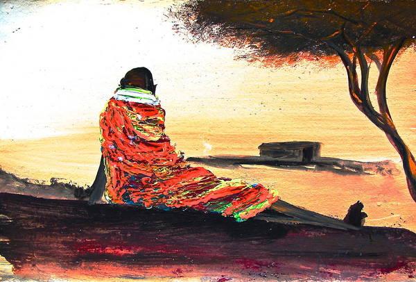 Painting - N 25 by John Ndambo