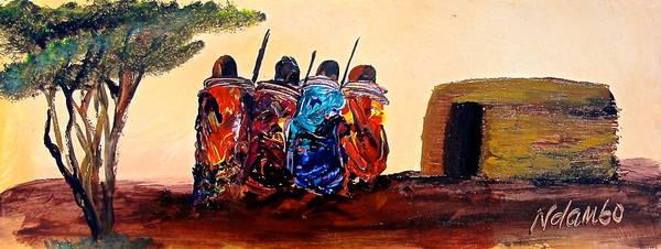 Painting - N 59 by John Ndambo