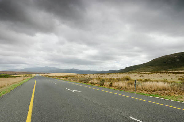Freight Transport Wall Art - Photograph - N2 Motorway In Western Cape, South by Funky-data