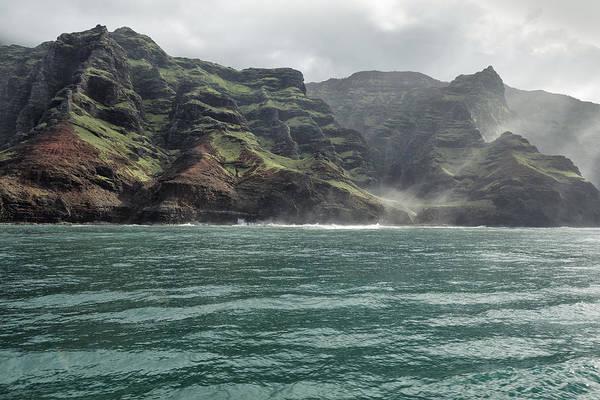 Photograph - Na Pali Coast No 4 - Kauai - Hawaii by Belinda Greb