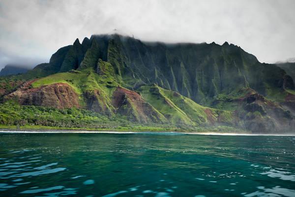 Photograph - Na Pali Coast No 6 - Kauai - Hawaii by Belinda Greb