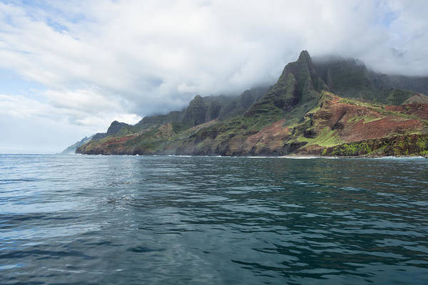 Photograph - Na Pali Coast No 7 - Kauai - Hawaii by Belinda Greb
