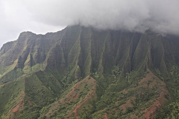 Photograph - Na Pali Coastal Cliffs by Steven Lapkin